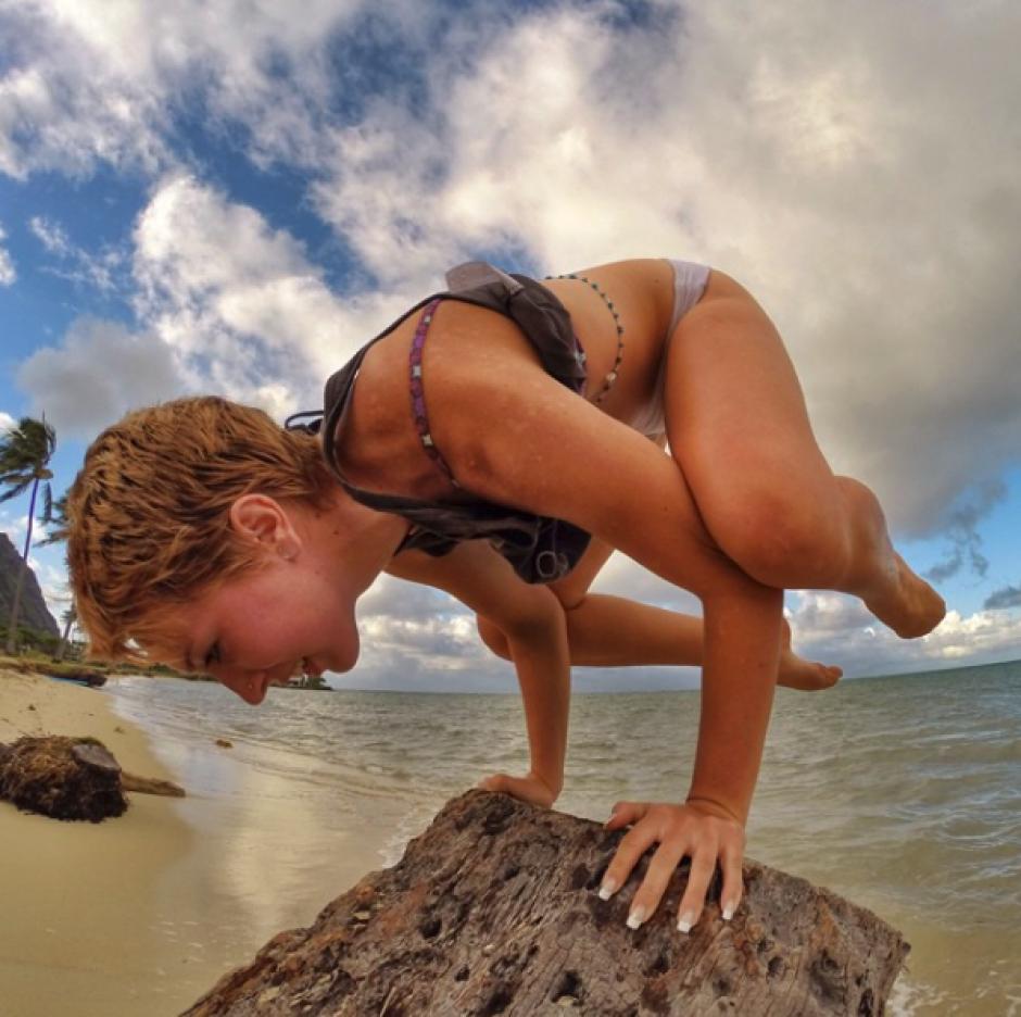 Es profesora profesional de Yoga. (Foto: Instagram)