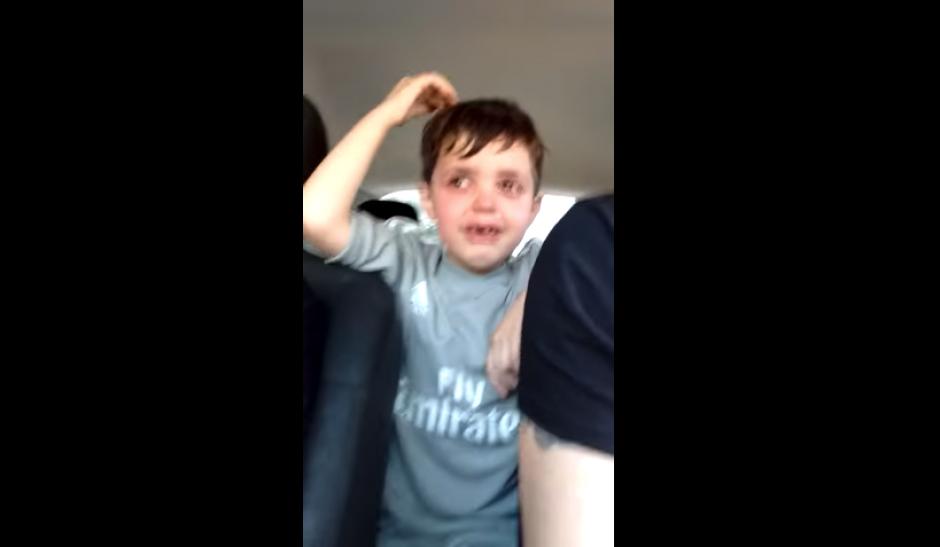 Un niño en Argentina se hace viral por su indignación. (Foto: Captura YouTube)