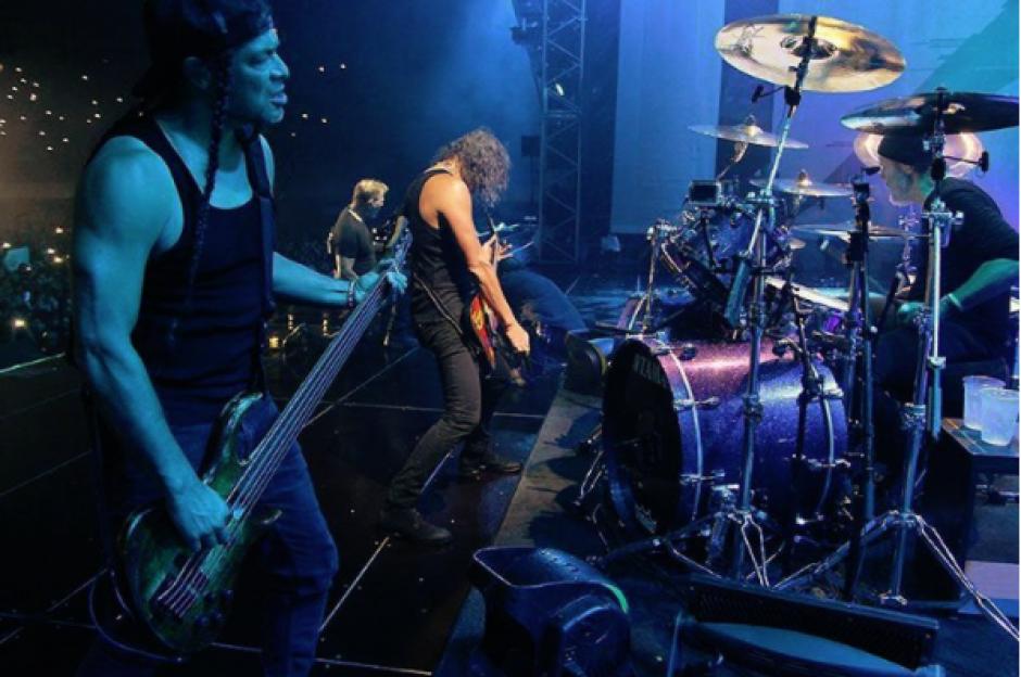 Muchos admiradores les agradecen por haber estado en Guatemala. (Foto: Instagram Metallica)