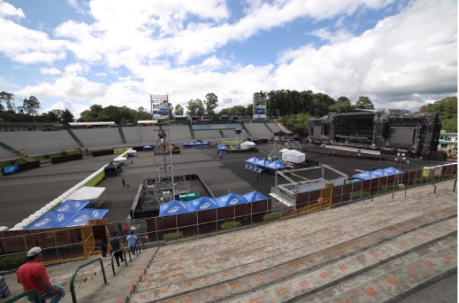 El estadio vacío era otra de las fotos que sobresalen en la cuenta de la banda. (Foto: Instagram Metallica)
