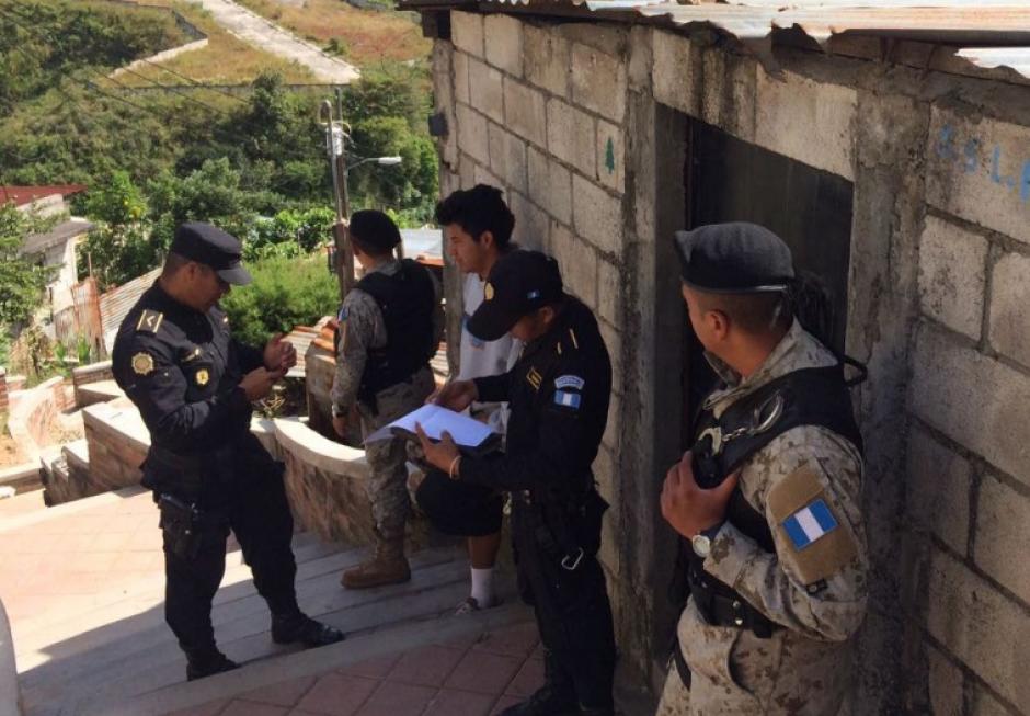 Al menos 18 casas han sido recuperadas en Villa Nueva. (Foto: PNC)