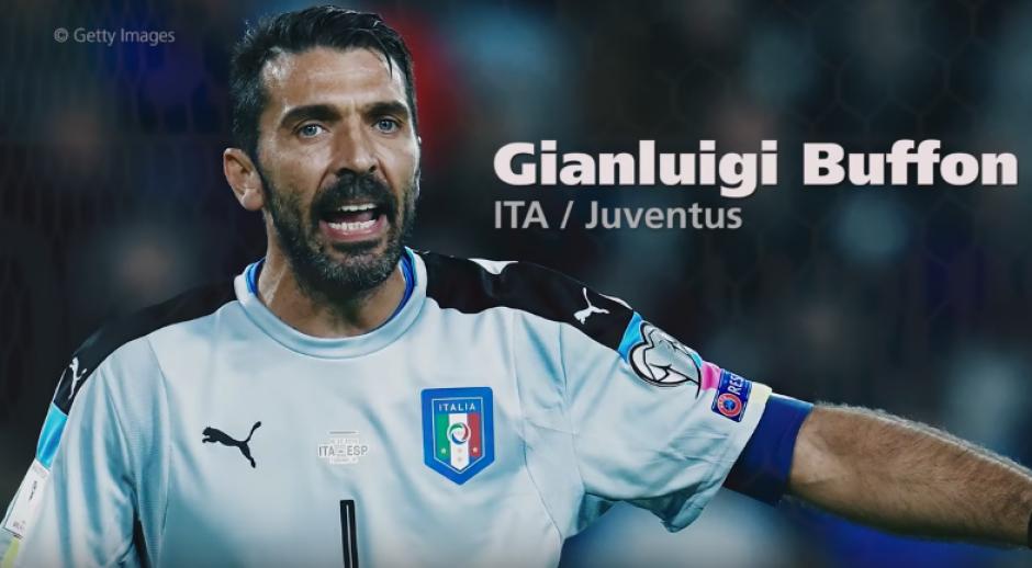 Gigi Buffon es el más veterano de la lista. (Imagen: captura de pantalla)