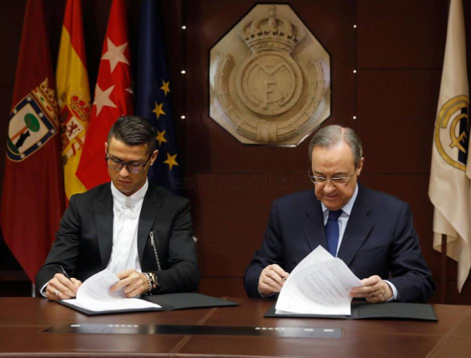 El portugués firmó hasta 2021, cuando tenga 36. (Foto: Real Madrid)