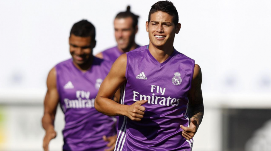 El colombiano entrena, pero solo entra de cambio. (Foto: AFP)