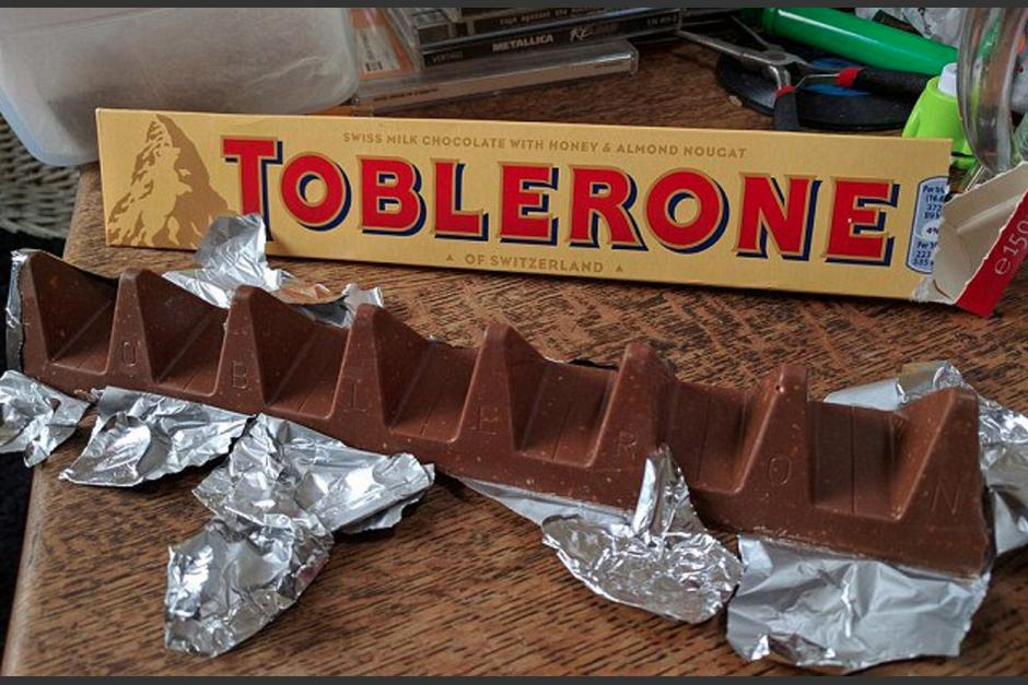 La nueva presentación del chocolate cambió el tamaño de sus triángulos. (Foto: The Telegraph)
