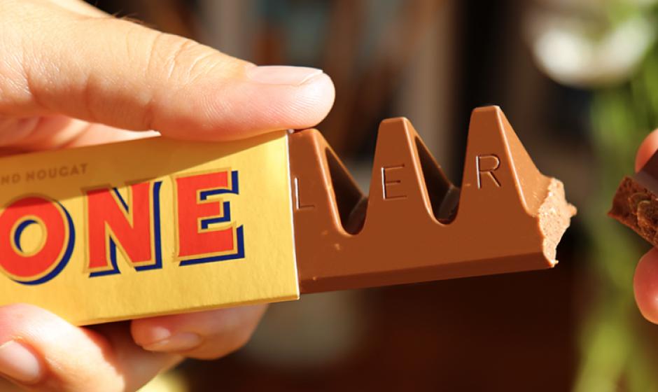 Así era originalmente el chocolate Tablerone. (Foto: The Telegraph)