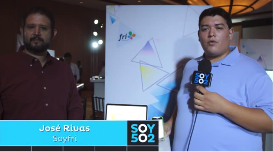 José Rivas busca cambiar el mundo de las finanzas a través de la app Fri. (Foto: Archivo/Soy502)