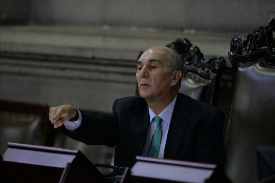 El parlamentario Mario Taracena se reportó con problemas de salud. (Foto: Archivo/Soy502)