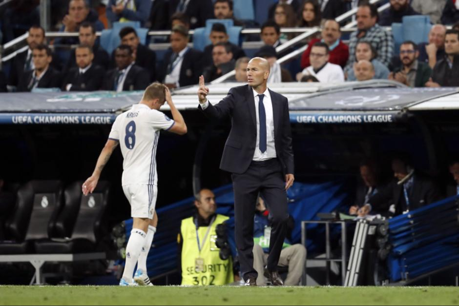 Zidane recuperó a Modric y perdió a Kroos en cuestión de tres días. (Foto: UCL)