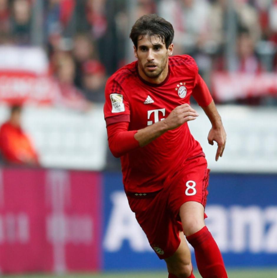 Javi Martínez, jugador del Bayern München. (Foto: Bild.de)