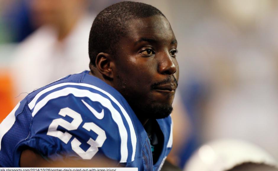 Vontae Davis, defensa de los Colts de la NFL. (Foto: ESPN)