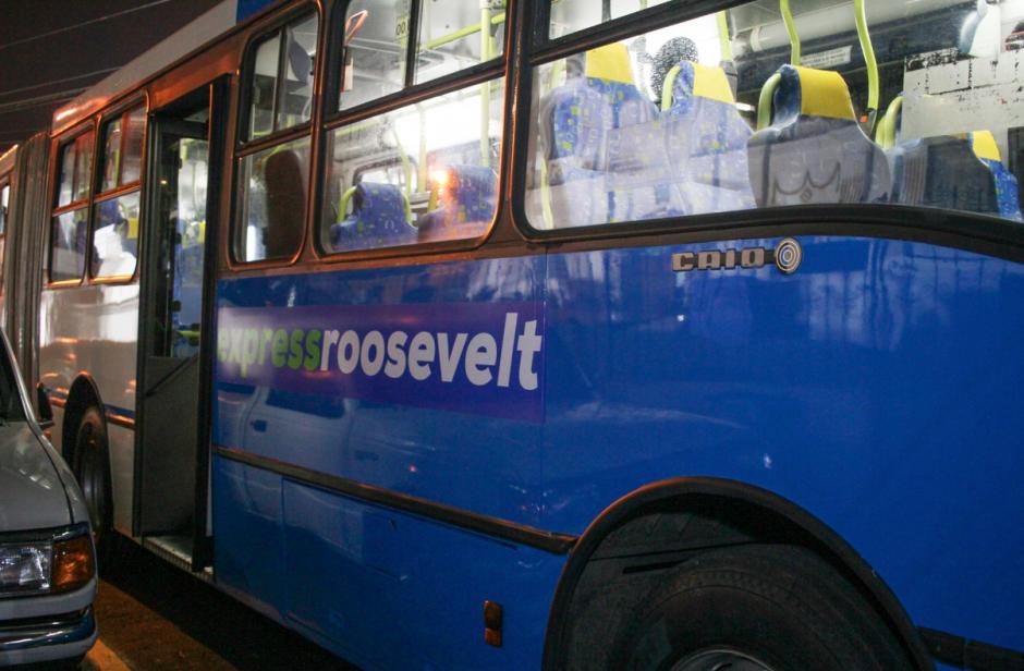 Así son los buses articulados que recorrerán la Roosevelt. (Foto: Facebook/Neto Bran)
