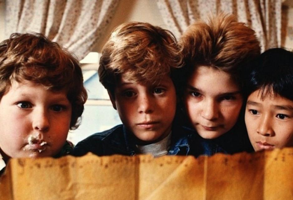 """""""Los Goonies"""" es una famosa película de los ochentas protagonizada por niños"""