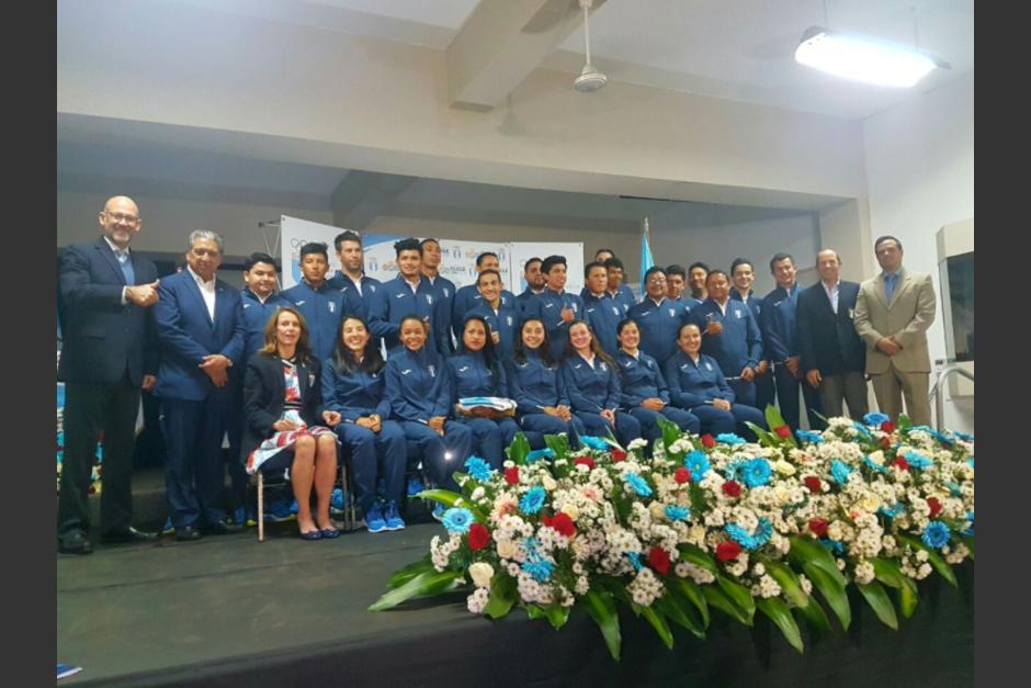 La delegación completa que viajará a Chile. (Foto: COG)