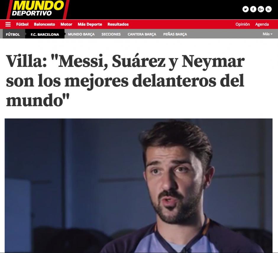 Mundo Deportivo también hace campaña en favor de Messi. (Foto: Mundo DEportivo)