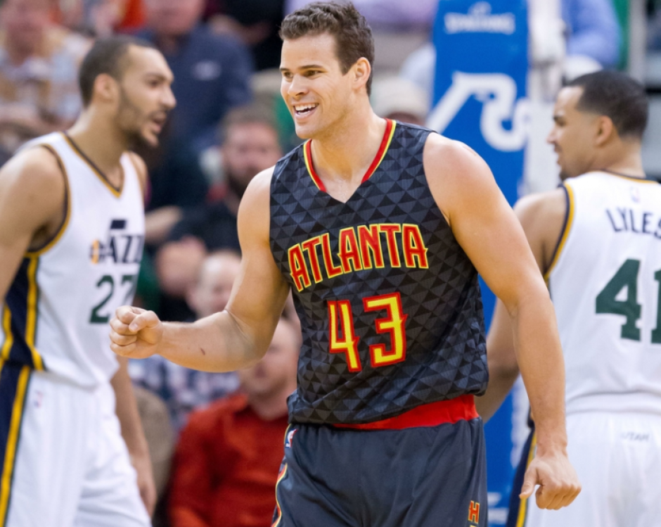 Kris Humphries, actual jugador de los Atlanta Hawks. (Foto: Fox Sports)