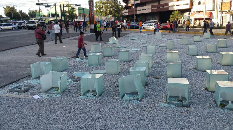 Pese a los disturbios la PNC no reportó capturas. (Foto: José Miguel Castañeda/Soy502)