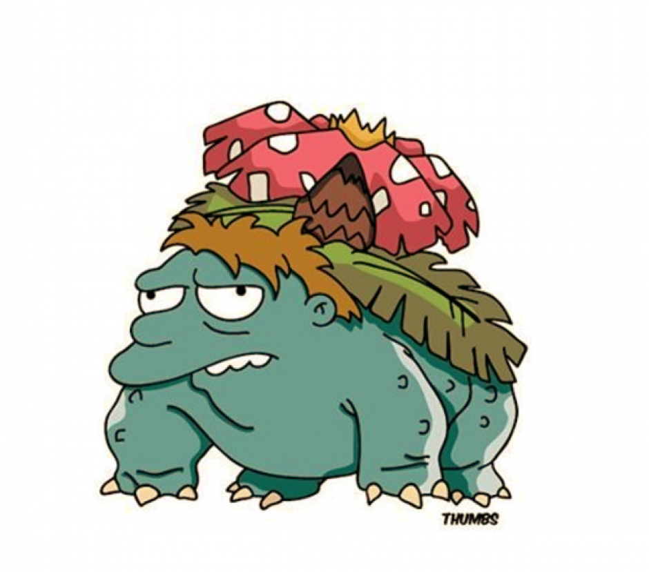 Barneysaur parece no ser una buena elección para tus batallas. (Foto: Instagram Thumbs)