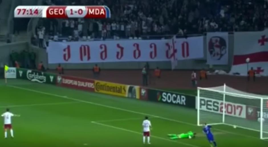 Alexandru Gatcan metió el mejor gol de su carrera. (Imagen: captura de pantalla)