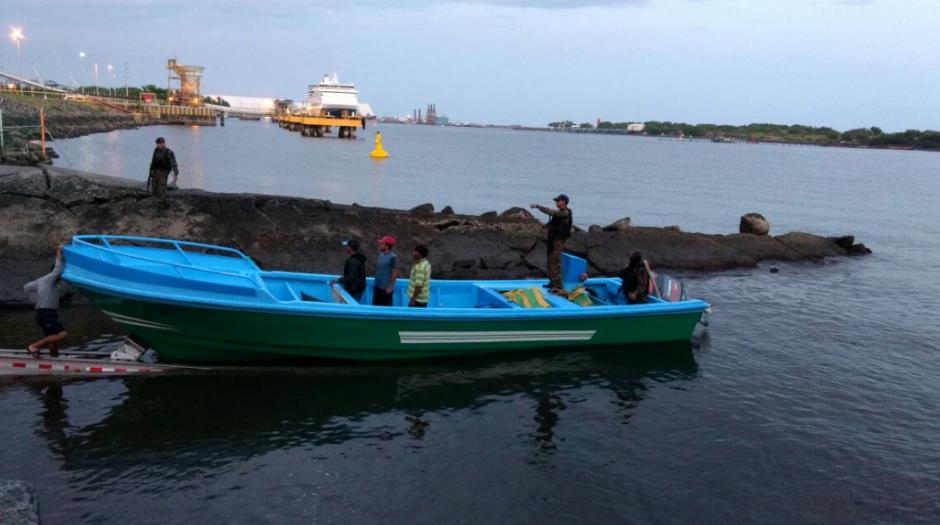 Tres ecuatorianos fueron detenidos por transportar droga. (Foto: MP)