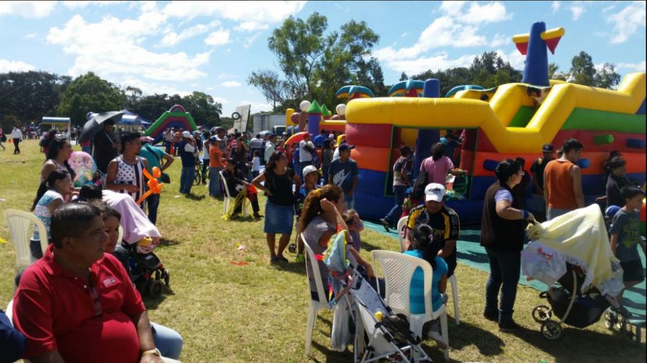 Además, hubo otras actividades para chicos y grandes. (Foto: Ministerio de Cultura y Deportes)