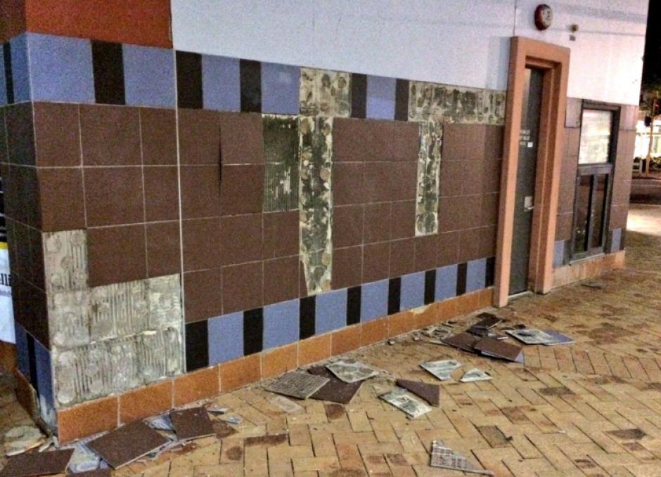 La mayoría de daños fue en infraestructura. (Foto: Twitter/@dickbicknell)