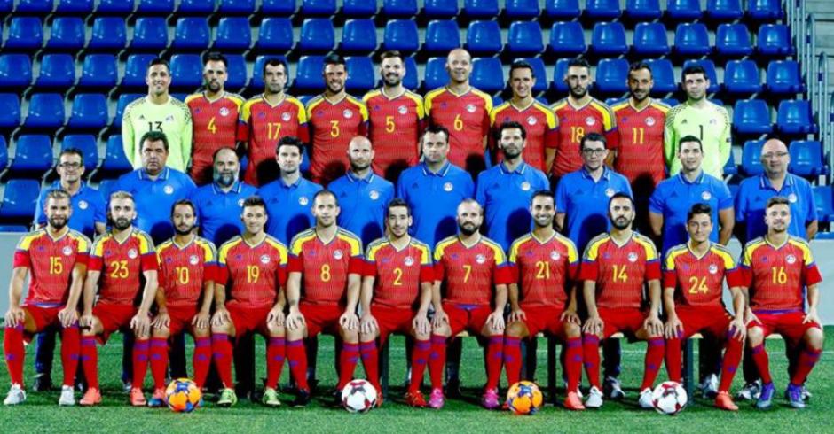 Foto oficial de la selección de Andorra. (Imagen: FAD.AD)