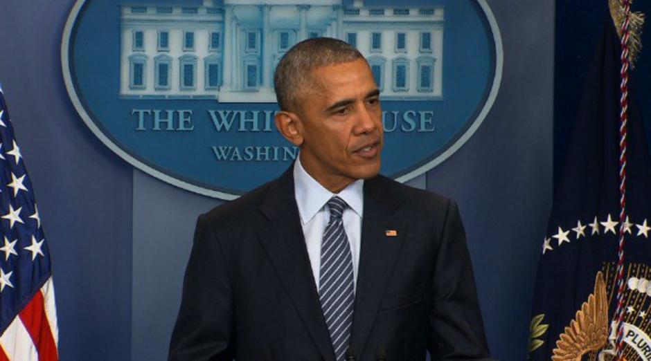 Barack Obama habló por primera vez luego de reunirse con Donald Trump. (Foto: AFP)