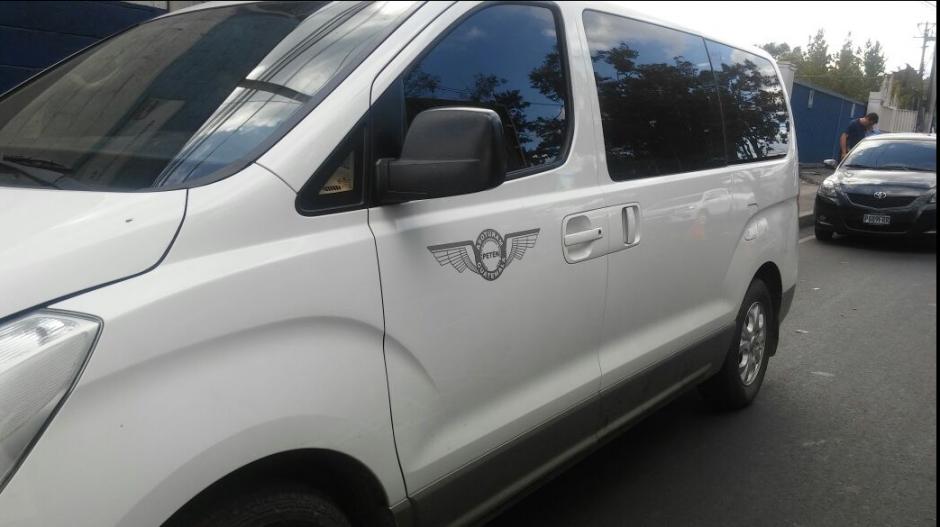 Son dos los vehículos involucrados en una inspección antidrogas. (Foto: MP)