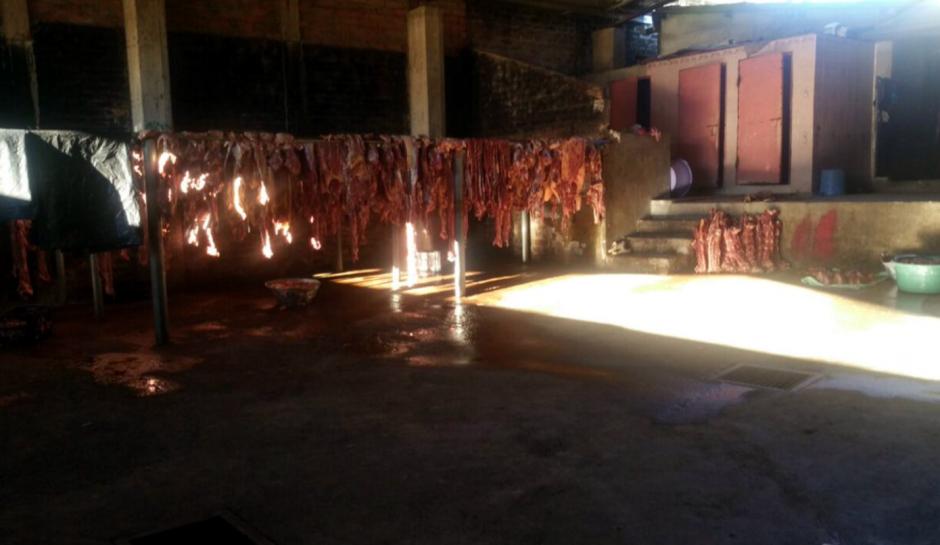 El rastro donde se procesaba la carne de caballo, fue desmantelado. (Foto: diario1.com)