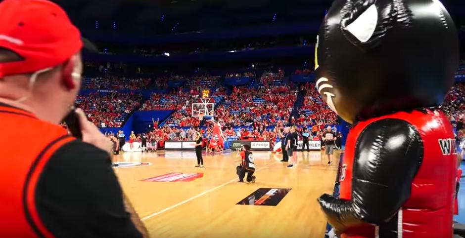 La idea fue de los Perth Wildcats de Australia. (Imagen: captura de pantalla)