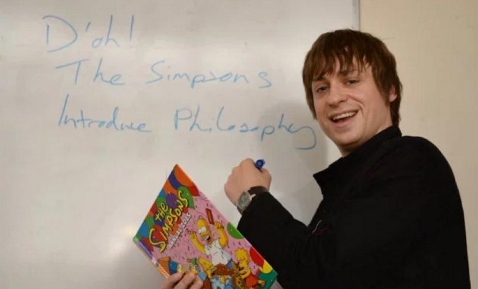 El doctor John Donaldson será el encargado de impartir una clase de filosofía inspirada en Los Simpson