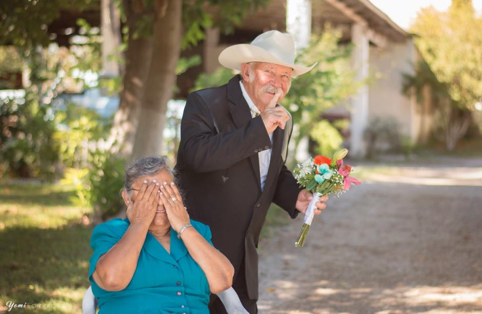 Ramiro y Diama tienen 52 años de casados. (Foto: Facebook/Yomi Fotografía)
