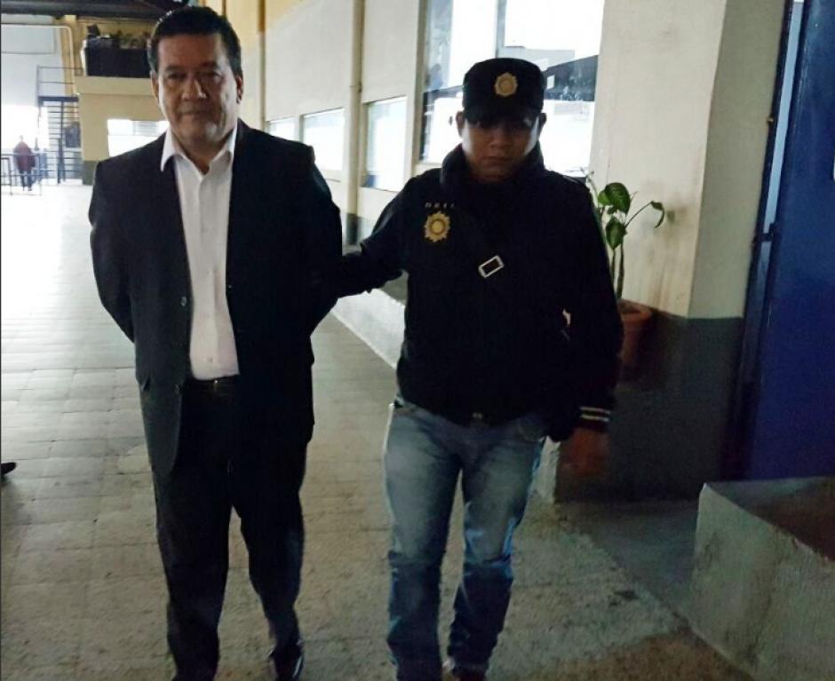 El exdirector de Udevipo fue detenido la mañana de este jueves. (Foto: PNC)