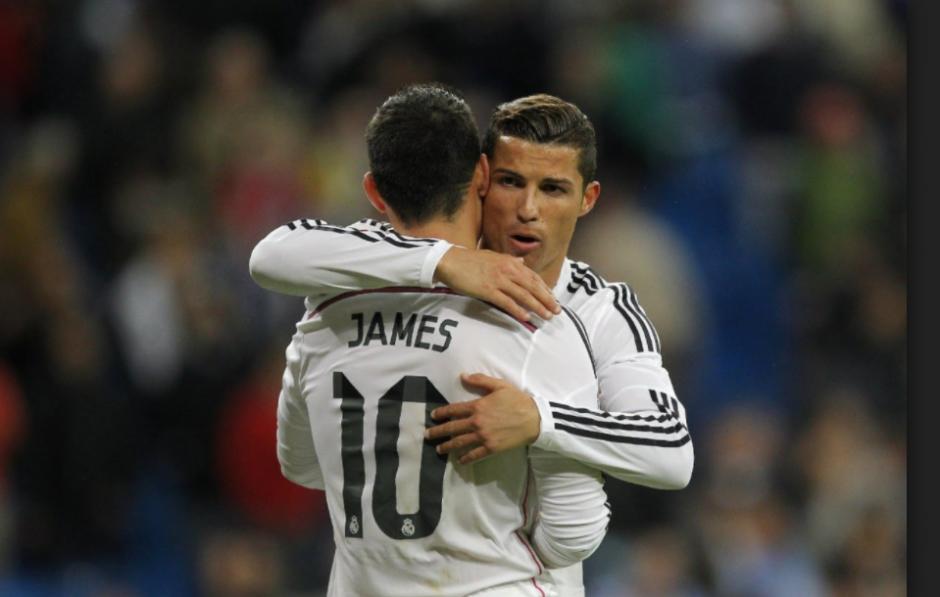 Cristiano y James mantienen una buena relación. (Foto: As.com)