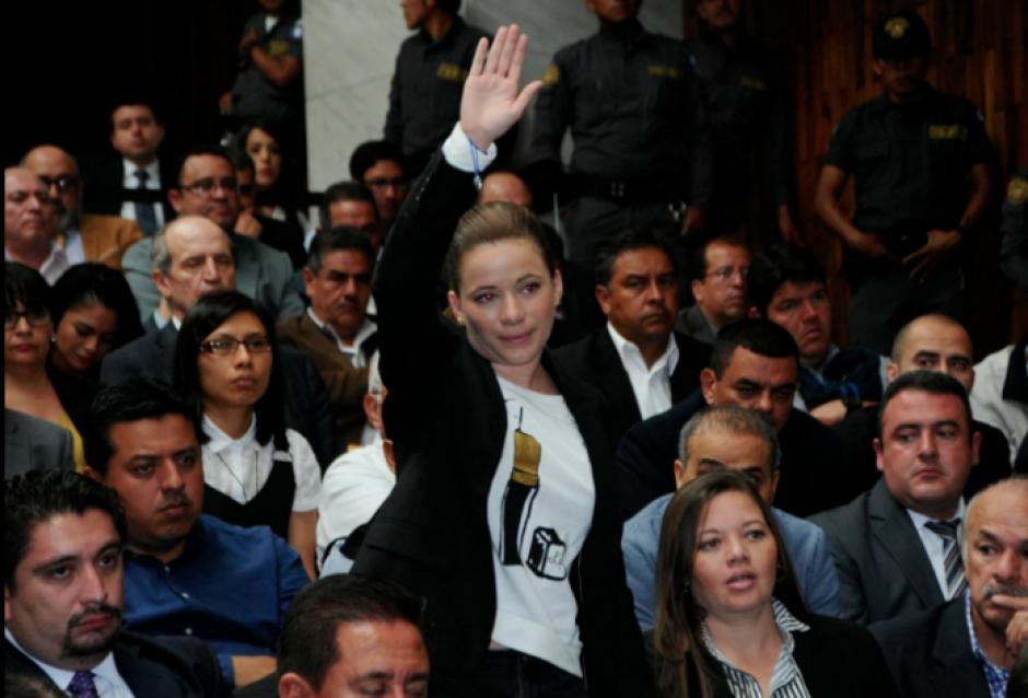 Daniela Beltranena fue separada por Baldetti del negocio de la compra del helicóptero. (Foto: Archivo/Soy502)