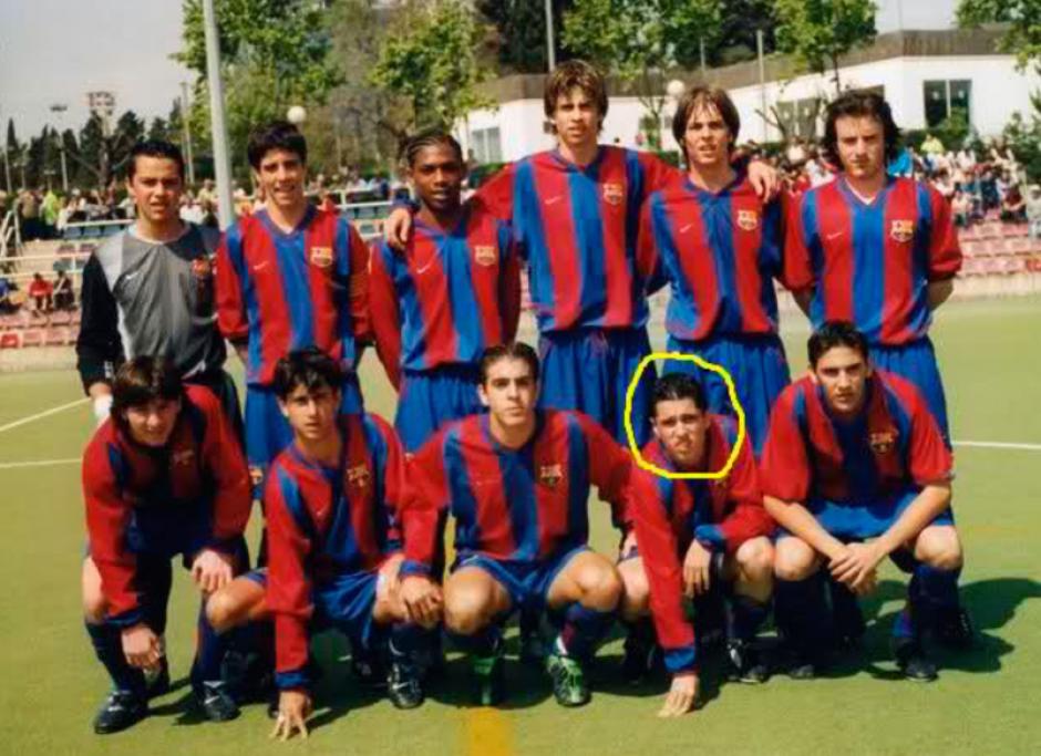Aquel equipo de la generación 87. Messi es el de abajo a la izquierda. (Foto: MarcaBuzz)