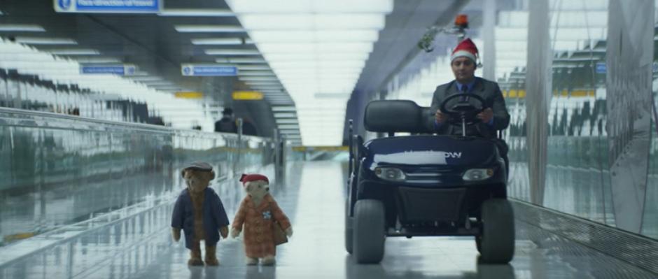 El video es una pieza publicitaria del aeropuerto de Londres Heathrow. (Foto: Captura de pantalla)
