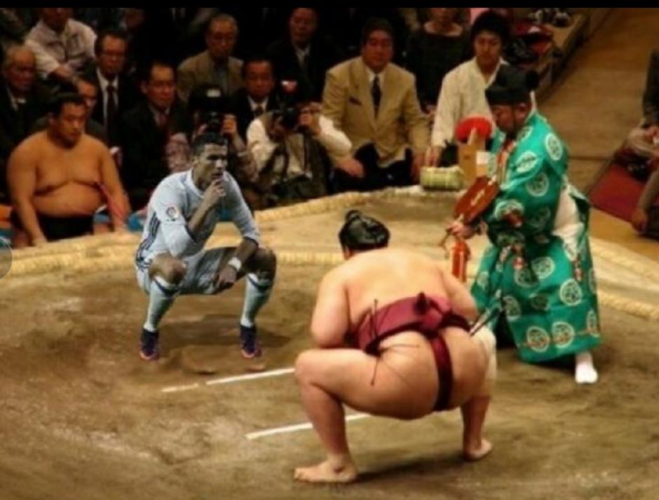 Y claro que hubo lucha se sumo. (Foto: Twitter)