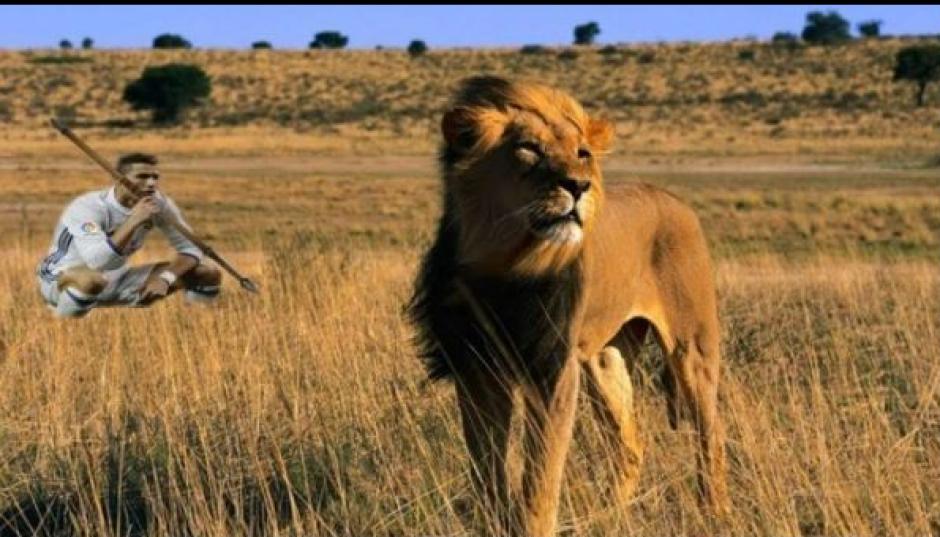 En África también hubo meme con la foto de CR7. (Foto: Twitter)