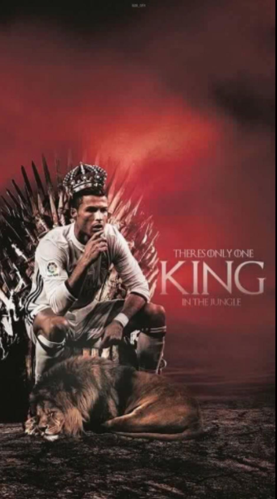 El rey Cristiano Ronaldo. (Foto: Twitter)