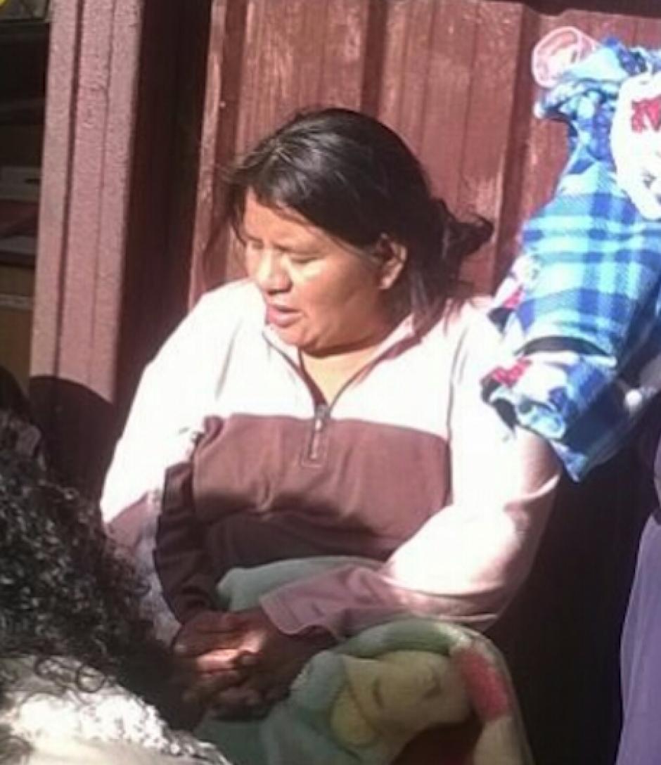 Magnolia López Pérez de 40 años entregó a la bebé en la estación de Bomberos. (Foto: Bomberos Municipales)