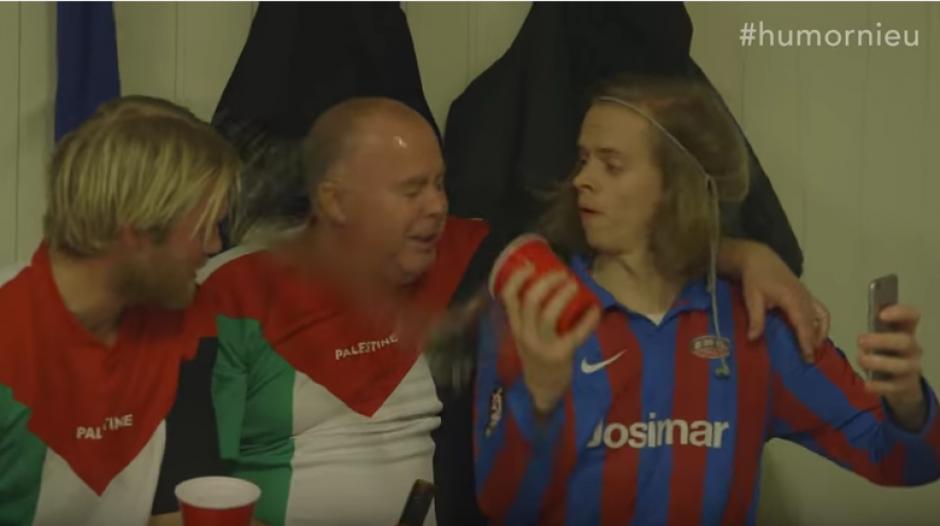 Si quieres practicar el Drunk Football debes estar borracho. (Foto: Captura de video)