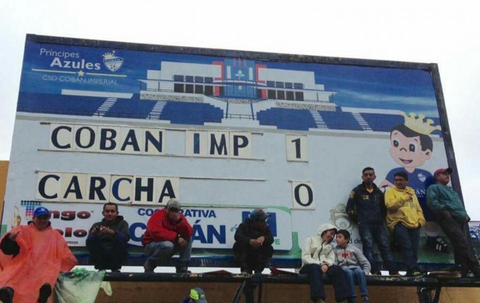 Cobán Imperial logró un gran triunfo. (Foto: @H_cobanimperial)