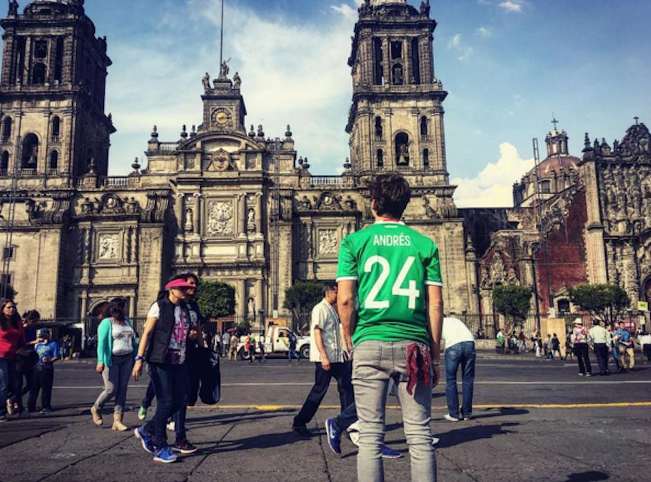 """Andrés dijo en la ceremonia: """"No está, la academia se encargará de hacerle llegar el premio"""". (Foto: Instagram)"""