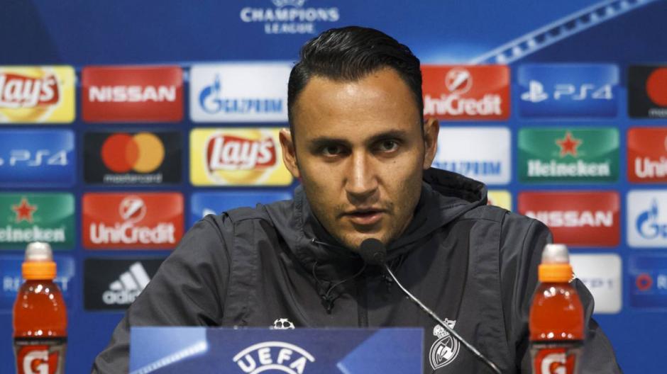Keylor habló previo a la jornada de Champions League. (Foto: AFP)