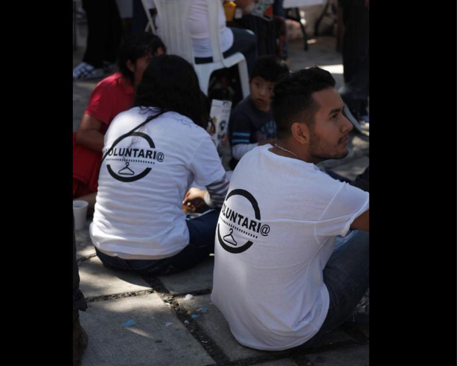 Los voluntarios son fundamentales para estas actividades. (Foto: Facebook/Street Store)
