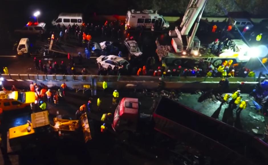 El accidente provocó 17 muertos. (Foto: RT Actualidad)
