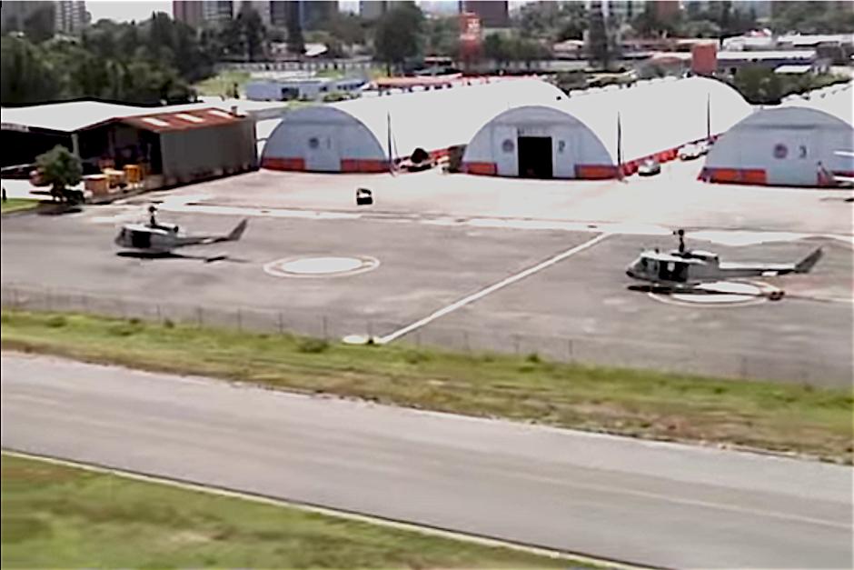 Los seis helicópteros tienen un valor de 40 millones de dólares. (Foto: Gobierno de Guatemala)