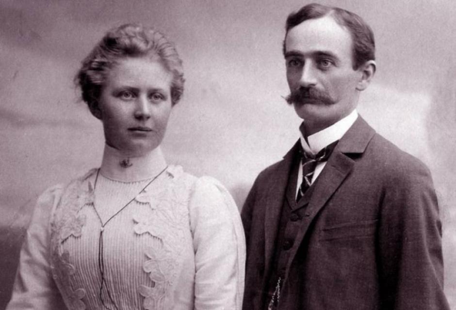 Friedrich y Elizabeth procrearon en Nueva York a Fred, el padre de Donald Trump. (Foto: El Clarín)